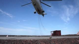 Посадка Ми-26 в Воркуте