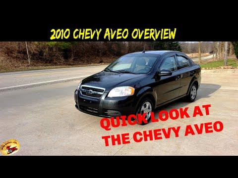 Super Nice 2010 Chevy Aveo LT Loaded