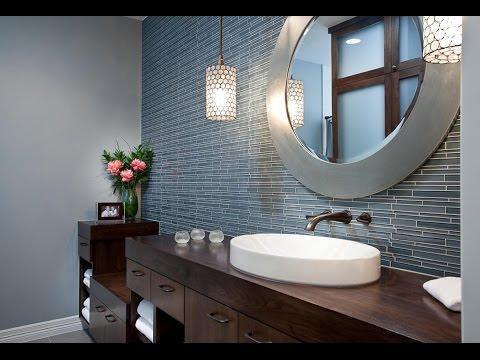 Amazing Framed Bathroom Mirrors Designs