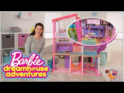 Barbie Dreamhouse Step By Step Assembly Barbie Youtube