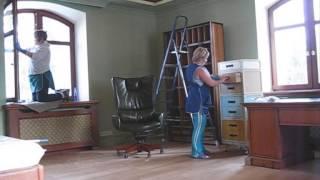 Уборка коттеджа после строительства от Клининговой Компании Настенька(, 2013-03-07T13:23:07.000Z)
