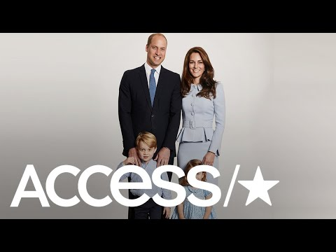 The Duke & Duchess Of Cambridge's Christmas Card Is Here