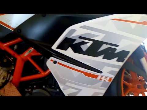 KTM RC 390 How to Change Disc Brake Fluid