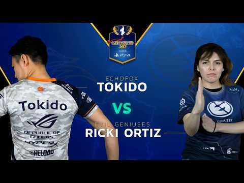 SFV: Echo Fox   Tokido vs EG   Ricky Ortiz - Capcom Cup 2017 - CPT2017