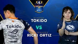 SFV: Echo Fox   Tokido vs EG   Ricki Ortiz - Capcom Cup 2017 - CPT2017