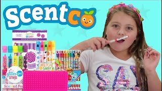 BACK TO SCHOOL SCENTCO FOOD SCENTED STATIONARY