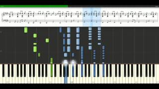 Madonna - La Isla Bonita [Piano Tutorial] Synthesia
