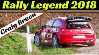 Craig Breen/Martin Scott & Citroen C4 WRC - Rally Legend San Marino 2018 WINNERS!