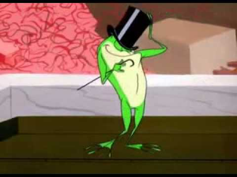 La rana  sapo que canta y baila Michigan J Frog  Hello My Baby