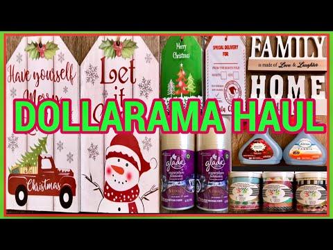 DOLLARAMA HAUL | ALL NEW ITEMS | DECEMBER 11 2019