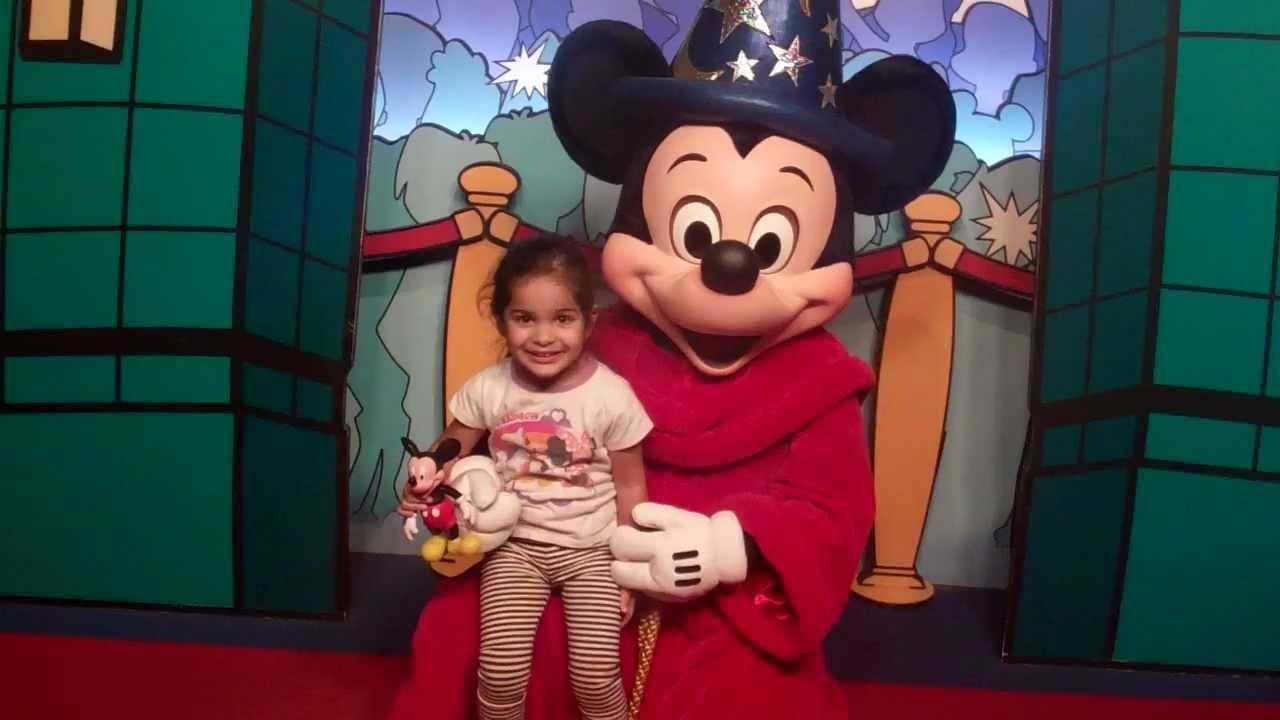 Meeting fantasia Mickey Mouse at Disney World - YouTube  Meeting fantasi...