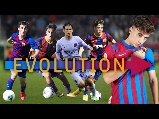 GAVI... from LA MASIA to FIRST TEAM (Exclusive official footage)