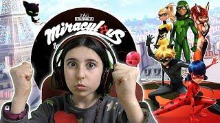 Nuevos Súperheroes Miraculous Ladybug & Cat Noir Run gameplay
