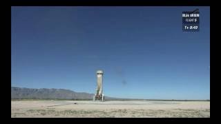 Blue Origin launch & landing October 5, 2016