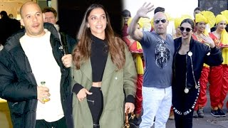 XXX Vin Diesel & Deepika's GRAND Welcome & Depature From India  Return Of Xander Cage