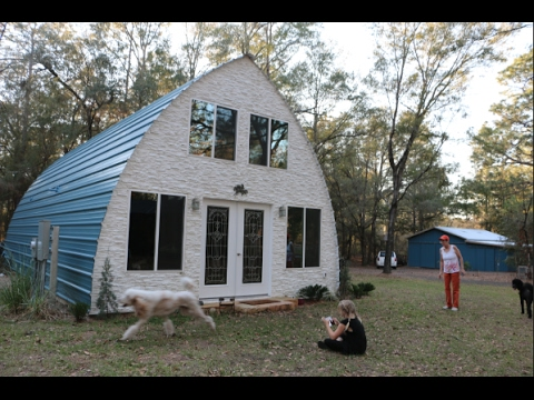 Tiny house or small house steel frame and termite free for Steel frame cabin