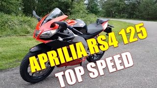 Aprilia RS4 125 top speed
