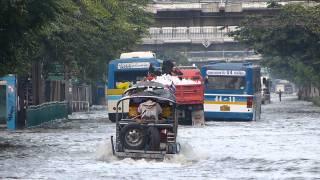 バンコク洪水 Flood in Bangkok(ウィークエンドマーケット周辺)