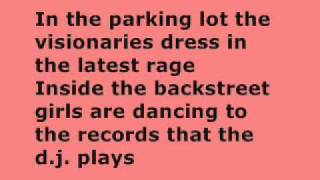bruce springsteen - jungleland lyrics