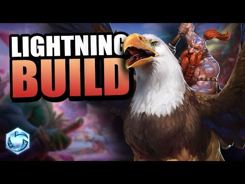 Falstad  all the lightning!!  Heroes of the Storm
