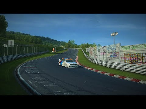 Nürburgring, Nordschleife. Raceroom, 1992 DTM, BMW M3  