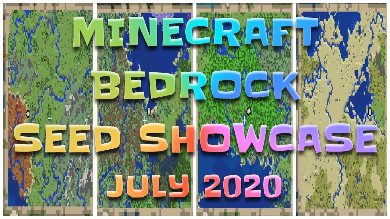 Minecraft Bedrock 11.111 Seeds – July Seed Showcase 11 seeds – Seed Saturday