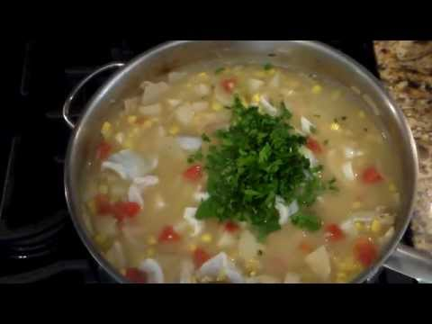 The Best Fish And Corn Chowder