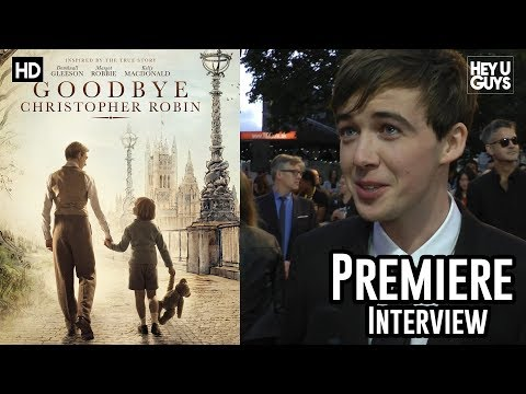 Alex Lawther | Goodbye Christopher Robin Premiere Interview