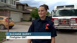 emt suzanne barry describes scenes of destruction left by fort mcmurray wildfire