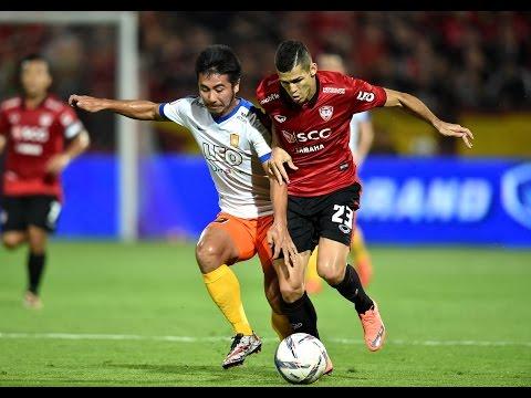 MTUTD.TV ไฮไลท์ฟุตบอลไทยลีกนัดที่ 2 เอสซีจีเมืองทองฯ 2- 0 บางกอกกล๊าสฯ