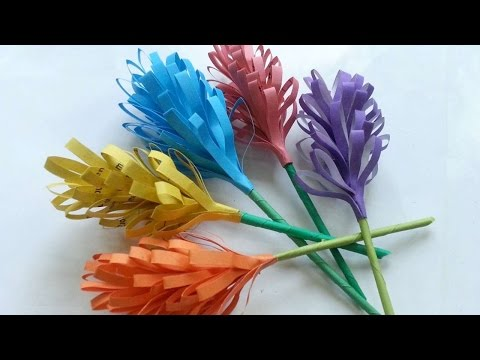 How To Create Pretty Paper Hyacinth Flower - DIY Crafts Tutorial - Guidecentral