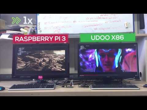 UDOO X86 vs Raspberry Pi 3: a close comparison