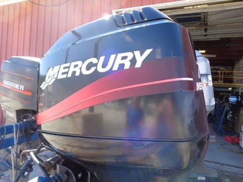0T010230 Used 2000 Mercury 75ELPTO 75HP 2-Stroke Remote Outboard Boat Motor  20