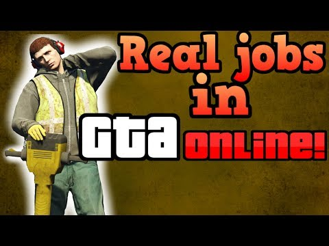 If GTA Online players had to work real jobs!