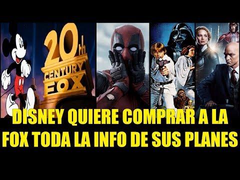 Disney Quiere Comprar a la FOX Toda la Info de sus Planes  (Explicación)
