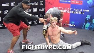 """Gambar cover """"LOOK AT HIM! MACHINE!"""" - SHANNON BRIGGS EPIC HYPE MAN MOMENTS FOR LOGAN PAUL REMATCH WITH KSI"""