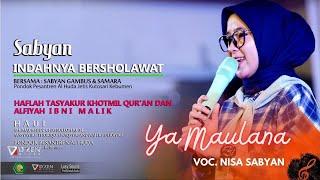 Sabyan Gambus - Ya Maulana - Allahumma Labbaik - Ya Jamallu Live Kebumen