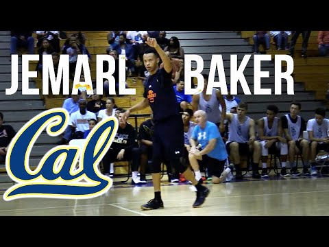 17' Cal Commit Jemarl Baker Is Deadly From Deep! | Ron Massey Classic Raw Highlgihts
