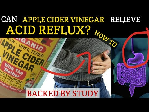 HOW TO USE APPLE CIDER VINEGAR ACV FOR ACID REFLUX, GERD