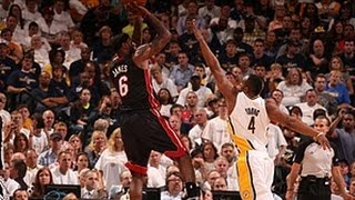 LeBron James leads Heat to Game 3 victory!