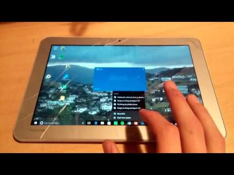 Sick! Toshiba Encore 2 Ten Inch Windows Tablet Review
