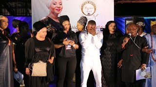 ATORISE IN TEARS DELIVERS HEART-RENDING PERFORMANCE MOJI OLAIYAS MEMORIAL SERVICE