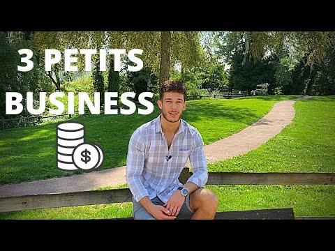 3 idées de petit business qui rapporte