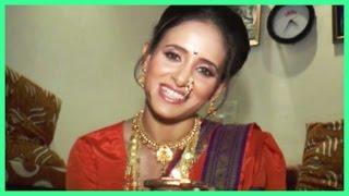 Shweta Khanduri Prepares Eco Friendly Rangoli!