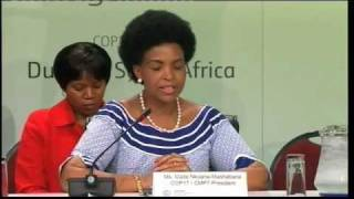 Press briefing on the status of negotiations - Durban 9 December 2011