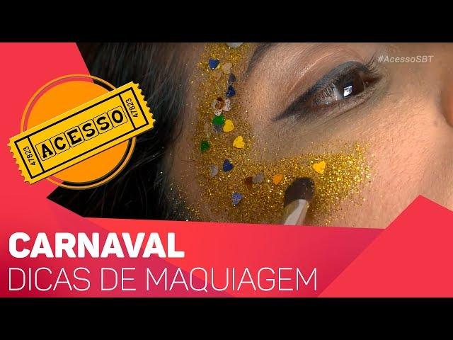 Dicas de maquiagem para o Carnaval - TV SOROCABA/SBT