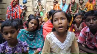 Bangladeshi girl singing love song