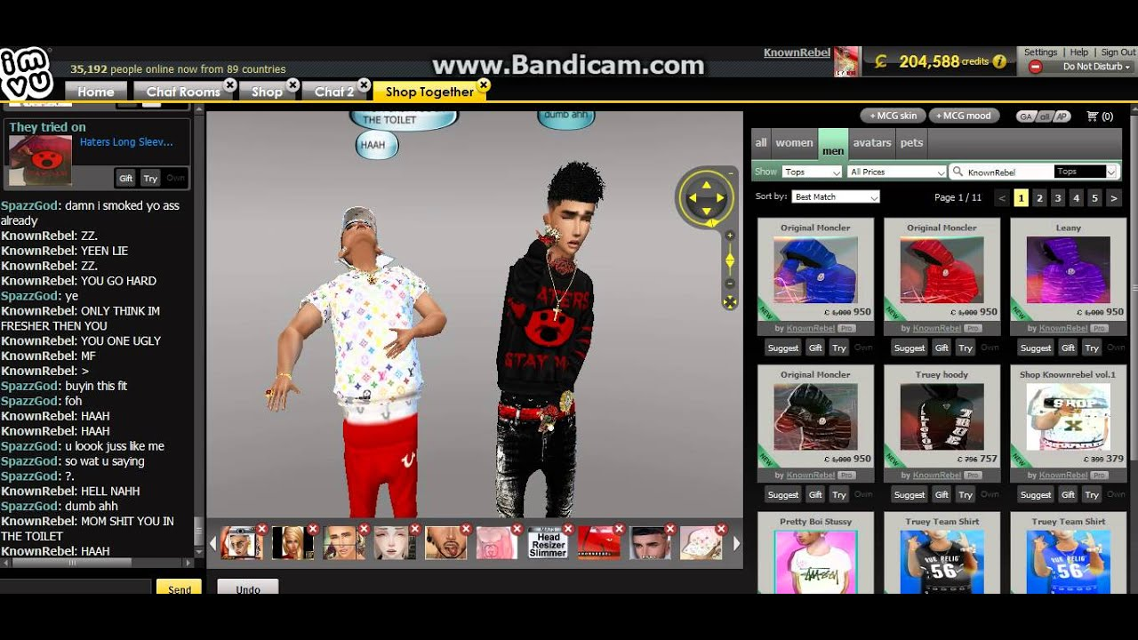 Connu Shop KnownRebel AND Fohnem [IMVU SHOP] subscribe my channel! - YouTube OQ33