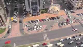 [Behind the Scenes] Fast and Furious 7: Near miss Drift cars in Dubai