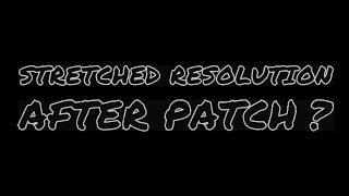 Résolution étirée après patch ? Fortnite Fortnite